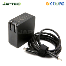 65w qc 3.0 type c usb pd power adapter charger with US/UK/EU wall plug 5V 3A 9V 3A 12V 3A 15V 3A 20V 3.25A