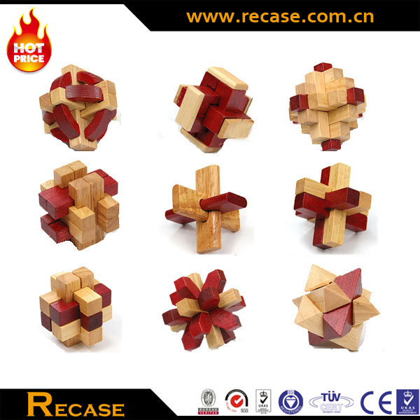 Puzzle 3d Wooden Games Set