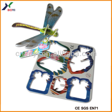 DP6001-9, 5X4cm, animal candy toys for turkey/india, plastic material and promotion toy puzzle