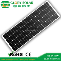 China Import High Efficiency Semi Flexible Solar Panels Wholesale Cost 18V 50W 100W 150W For Australia