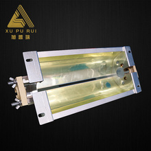 Custom Superior quality lamp shades china parts wholesale UV led strip light reflector for screen printing machine