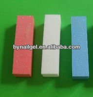 2015 hot sales eva nail polish file, nail file for nail art