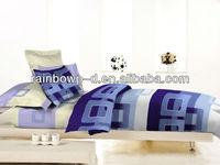 polycotton print cheap queen size bed sheet