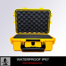 Hard plastic carrying case /waterproof instrument case /fashionable document case HIKINGBOX HTC010