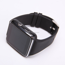 2017 wearable phone X6 best mens watches with good CPU MTK6261 and camera smart watch price With Camera FM