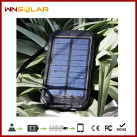 2013 New Developed 10000mAh Solar Power Bank for iphone5/Samsung Galaxy Note2