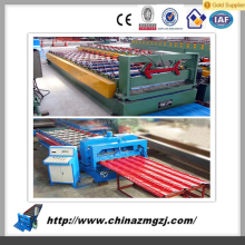The effective width of 828mm the gutter roll forming machine