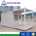 Prefabricated Container House Flat Packing 20ft Container House