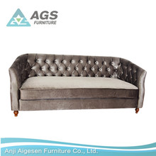 Latest 2017 Home Funiture European Style Modern Living Room Furniture Leather Sofa AGS-7102