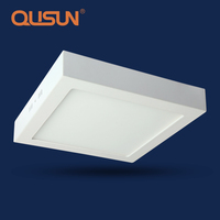 24W Round Square LED Ceiling Light Surface Mount LED Panel Frame