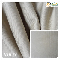 100% polyester car upholstery fabric stripe plain fabric