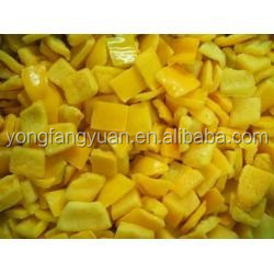 New crop dices&sliced frozen yellow pepper