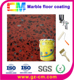 Artificial epoxy marble floor paint for indoor shopping mall floor
