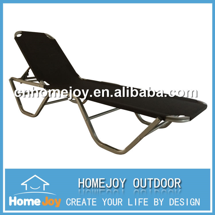 High quality outdoor aluminum sunbed, beach sunbed