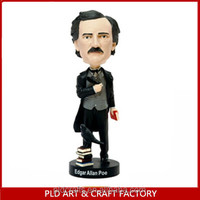 The golf player figures sport Bobblehead resin golf player figures