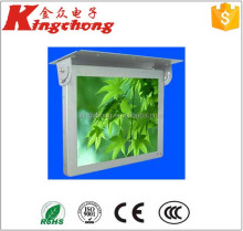 "Kingchong 10""~84"" Wifi Samsung LCD Bus Monitor, Roof Fixing LCD Bus Advertising Player in China"