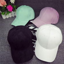 Promotional Fashion 5 panel cap baseball blank suede hat