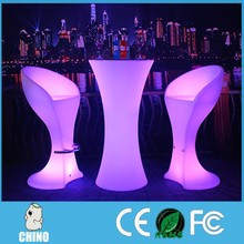 Nightclub Event Rgb color lighting led club table/stage table