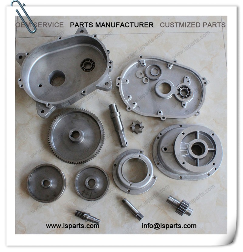 Factory production supply customized aluminum gearbox kit