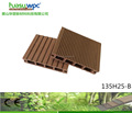 wood plastic composite decking board