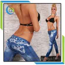 Wholesale 2017 new fashion women sexy jeans trousers pants