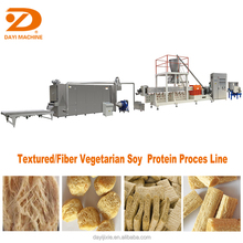 textured vegetarian Soya Protein Chunk extruder Machine With CE
