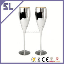 Unique Cheap Champagne Glasses Decorative Wine Gift Bags For Champagne Christmas Ornament