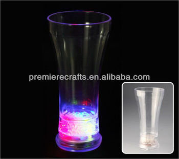 flashing LED ice cube cup