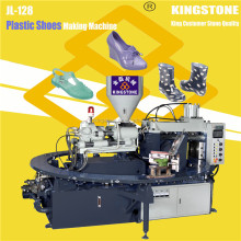 1/2 Color Plastic Sandals Injection Moulding Machine