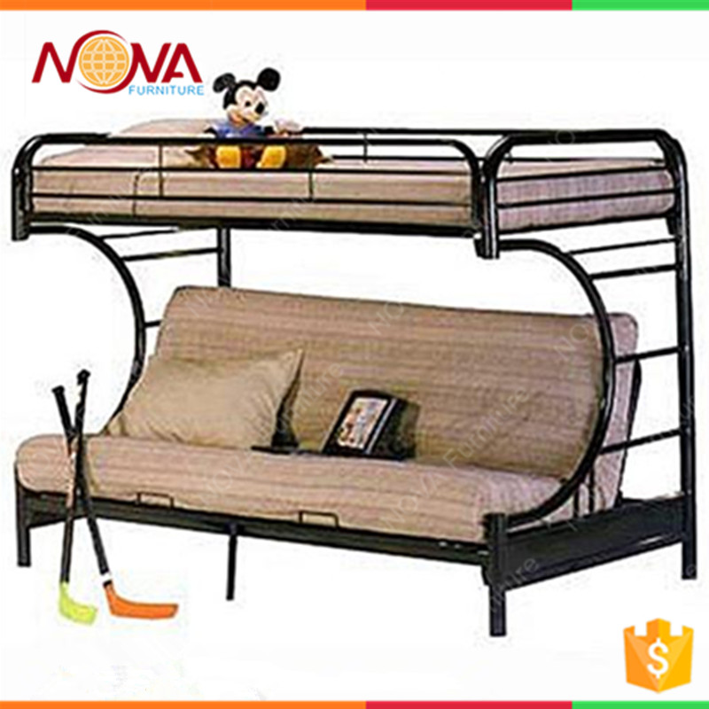 Modern design cheap wholesale home used metal frame latest folding sofa wall bed