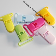 25mm Eco-friendly Plastic Pacifier Dummy Clip For Baby