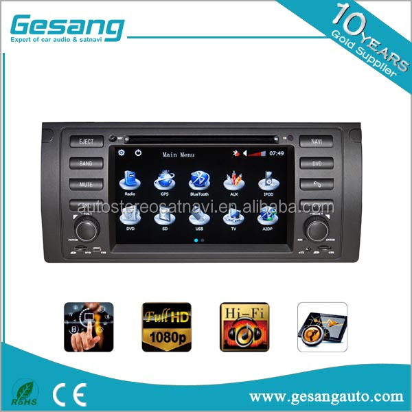 car gps multimedia navigator for BMW X5 (E53)