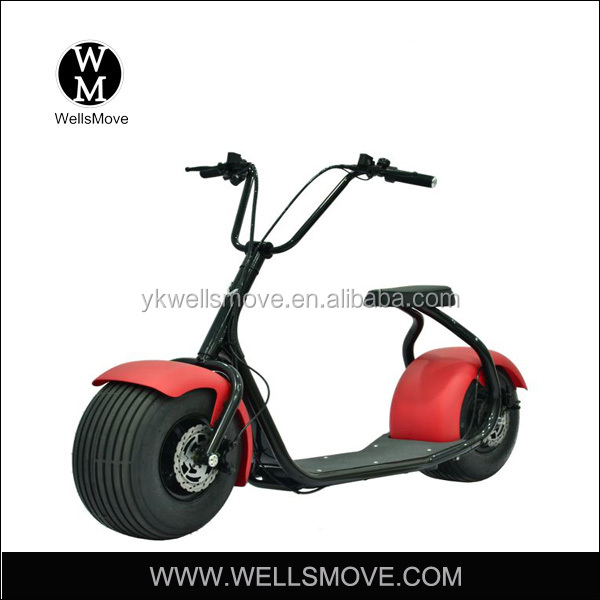 60v 800w 1000W lithium battery new model citycoco/seev/wolf fat tire electric scooter/harley electric motorcycle
