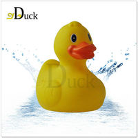 PVC Bath Toy, Kids Rubber Duck Toys