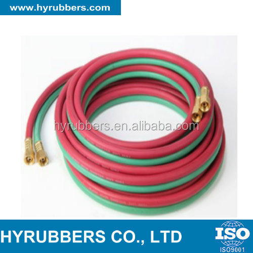 excellent quality rubber single/ twin welding hose