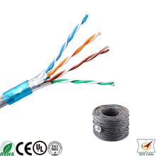 Alibaba Wholesale 300m Fluke 179 4p 99.5% copper shielded bulk cat5e cable