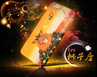 Luminous mobile phone case for iphone 6 & cell phone cover for iphone 6/ 6s plus glow in the dark case with 12 Constellation