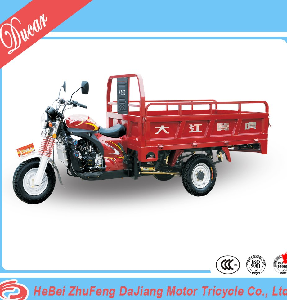 China Ducar DaJiang JiHu 2nd generationg 150cc hot sell motor tricycle for cargo