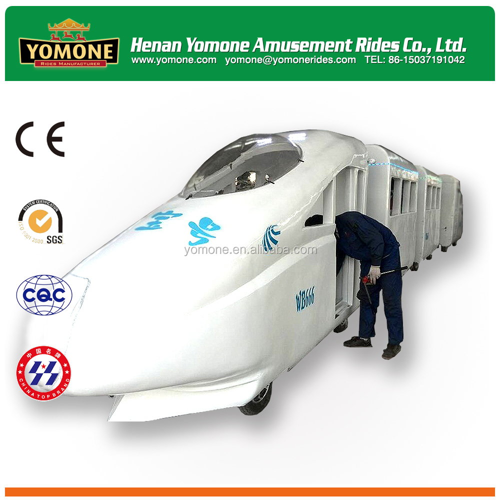 Shopping mall tourism trackless train bullet train for sale