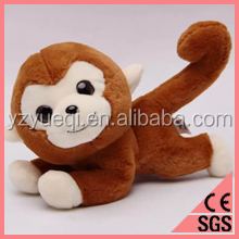 Stuffed blue Monkey Plush Toy for Sale/christmas plush monkey
