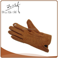 Screen Touching Conductive Fleece Winter Thinsulate Mittens For Adults