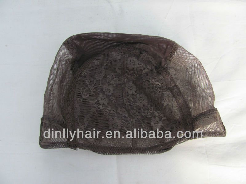 Brazilian Virgin hair wig caps u part wig cap/fish net cap