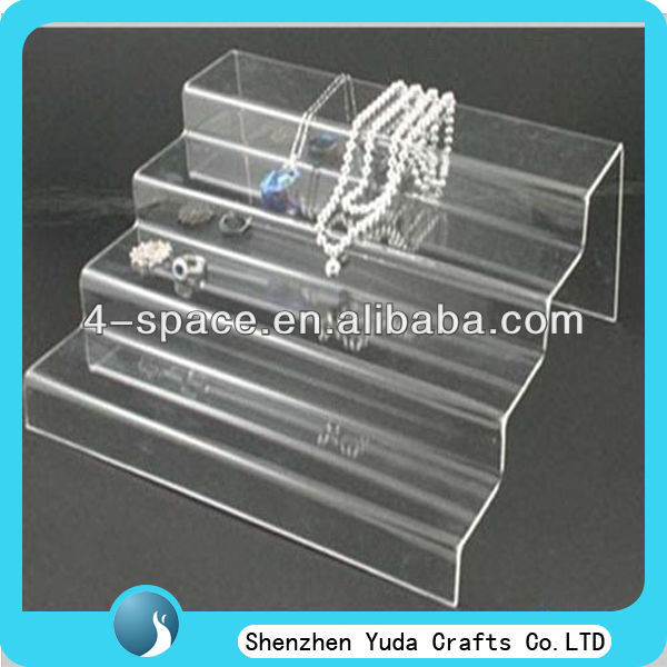 acrylic plexiglass counter top displays for jewelry cosmetic toy