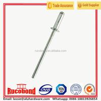 Aluminum countersunk head 1mm pop rivet