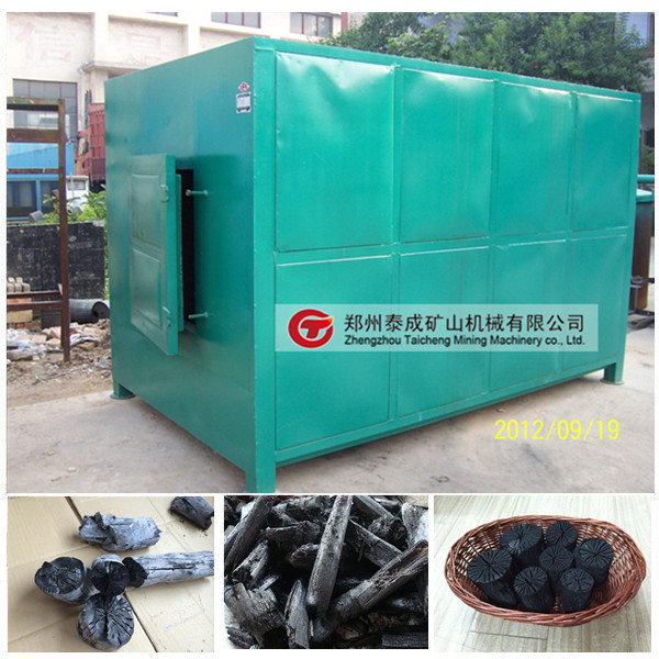 Factory supply reliable working grass carbonization furnace