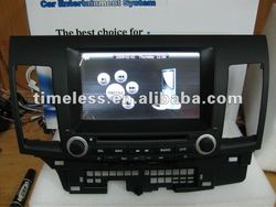 Hot Excellent for Mitsubishi Lancer Car DVD Player GPS with IPOD/IPAD/IPHONE TV Radio