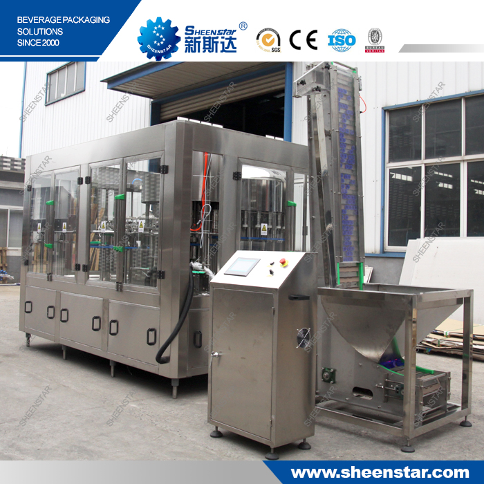 New CE approved water packing plant filling machine price