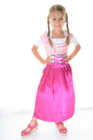 Kids dirndl dress/Oktoberfest girls dirndl dress/little girls dirndl dresses
