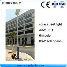 80 watt new high efficiency CE approval solar ip camera with led street light