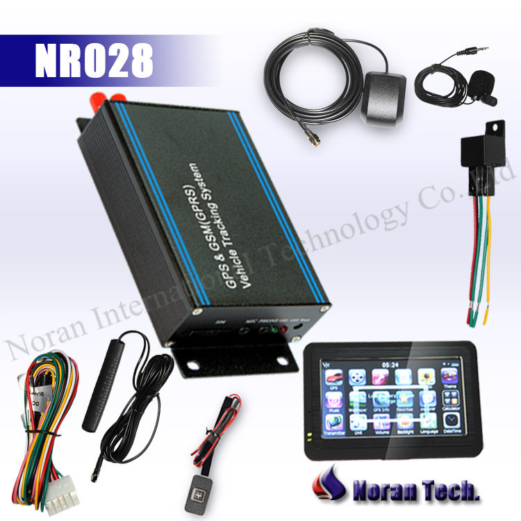 gps vehicle tracking system with navigation